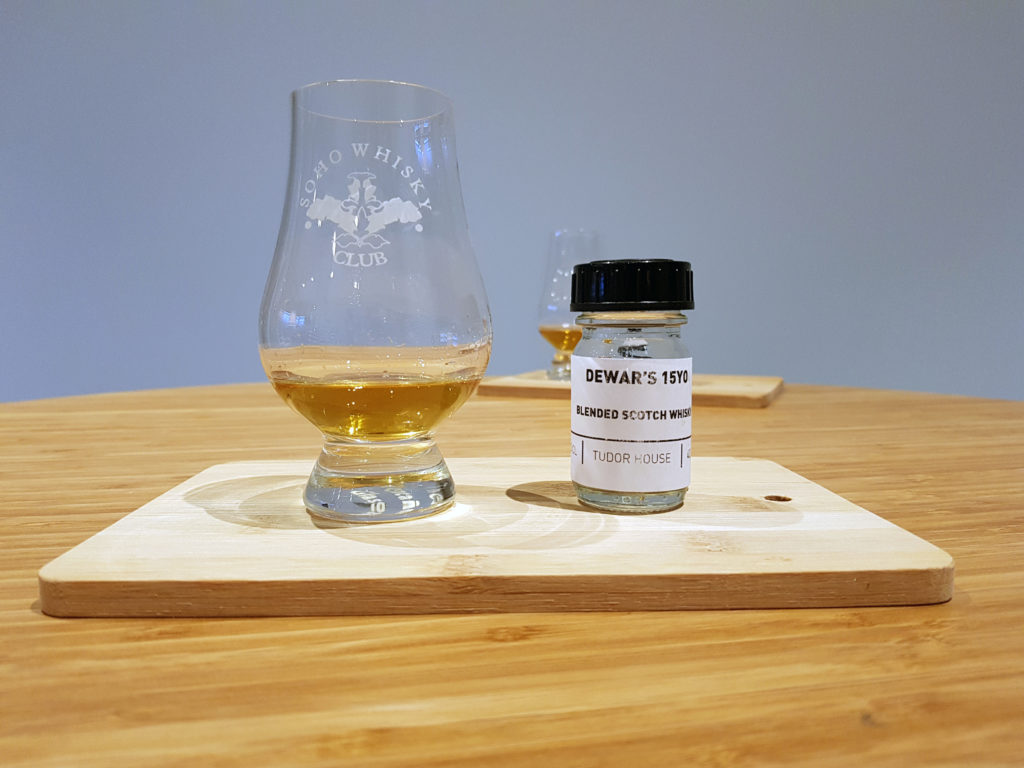 Dewar's 15 Sample